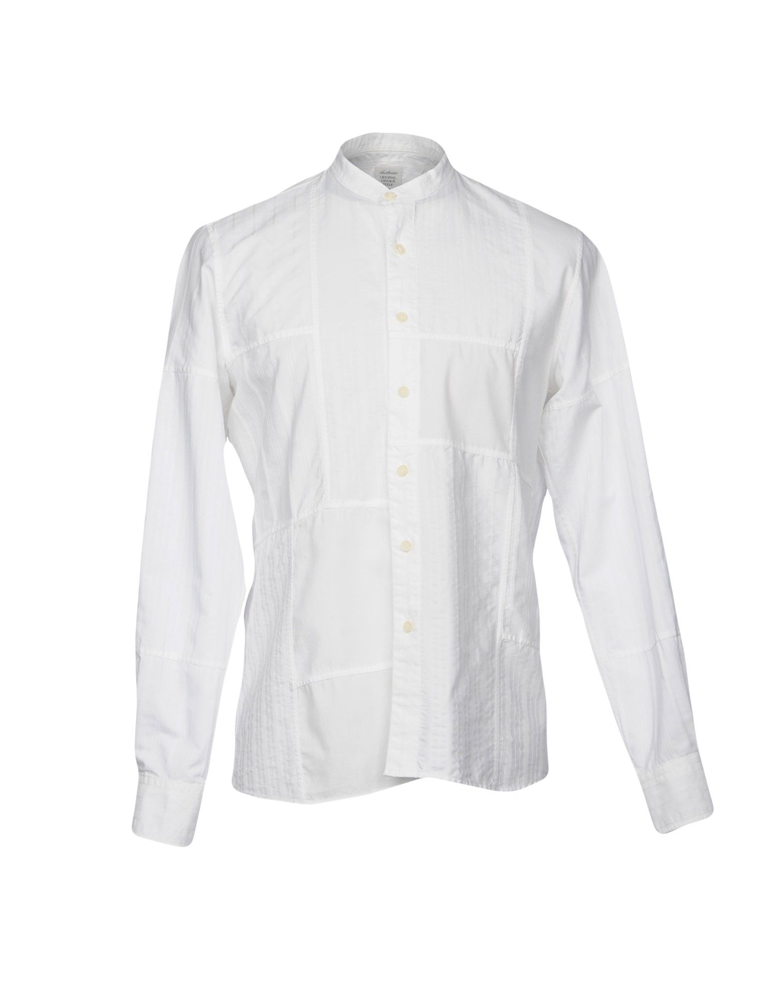 ORIGINAL VINTAGE STYLE Solid Color Shirt in White