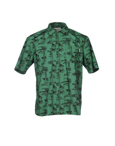 Фото - Pубашка от CARHARTT зеленого цвета
