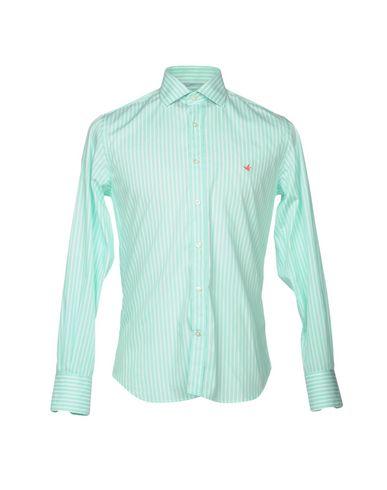 Фото - Pубашка от BROOKSFIELD светло-зеленого цвета