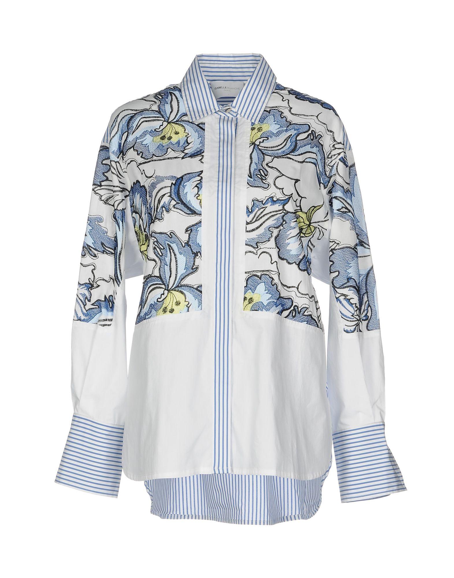 ISABELLE BLANCHE Paris Pубашка isabelle blanche paris пальто