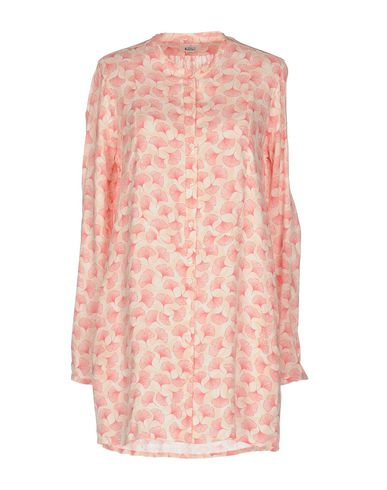 Фото - Pубашка светло-розового цвета