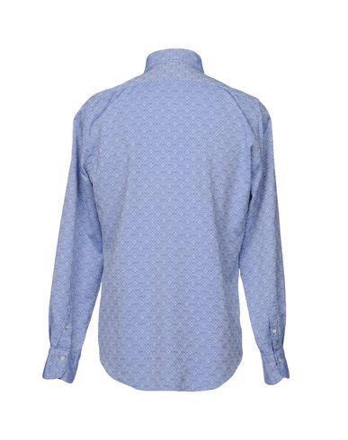 Фото 2 - Pубашка от FINAMORE 1925 синего цвета