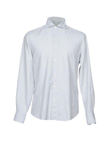 Купить Pубашка от FINAMORE 1925 светло-серого цвета