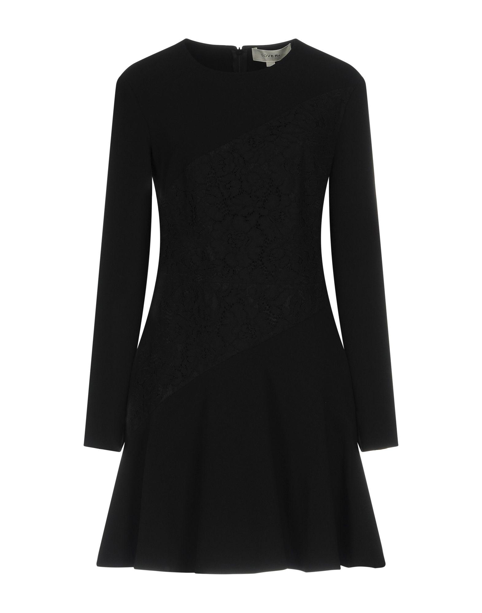 LOVER Short Dress in Black