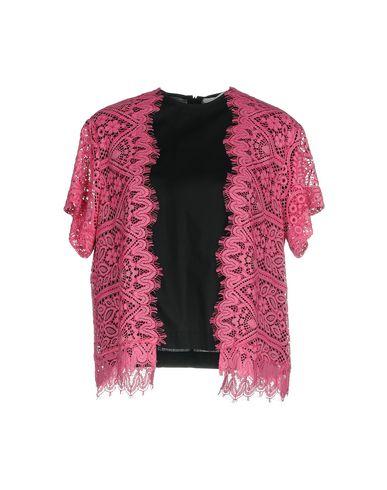 Фото - Женскую блузку MSGM розового цвета