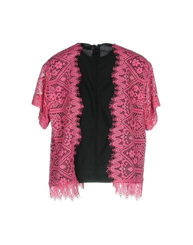 Фото 2 - Женскую блузку MSGM розового цвета