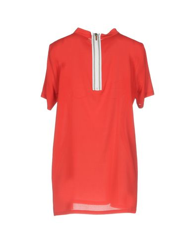 Фото 2 - Женскую блузку FABIANA FILIPPI красного цвета