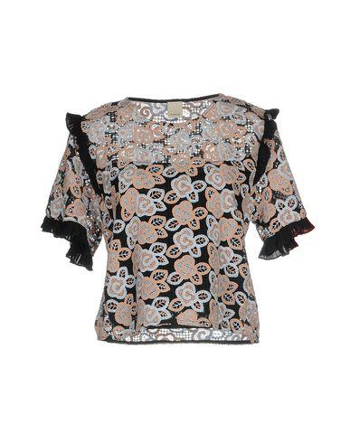 Фото - Женскую блузку  цвет какао
