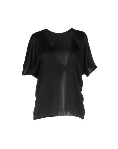 Фото - Женскую блузку JUCCA черного цвета