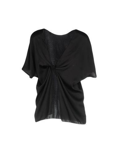 Фото 2 - Женскую блузку JUCCA черного цвета