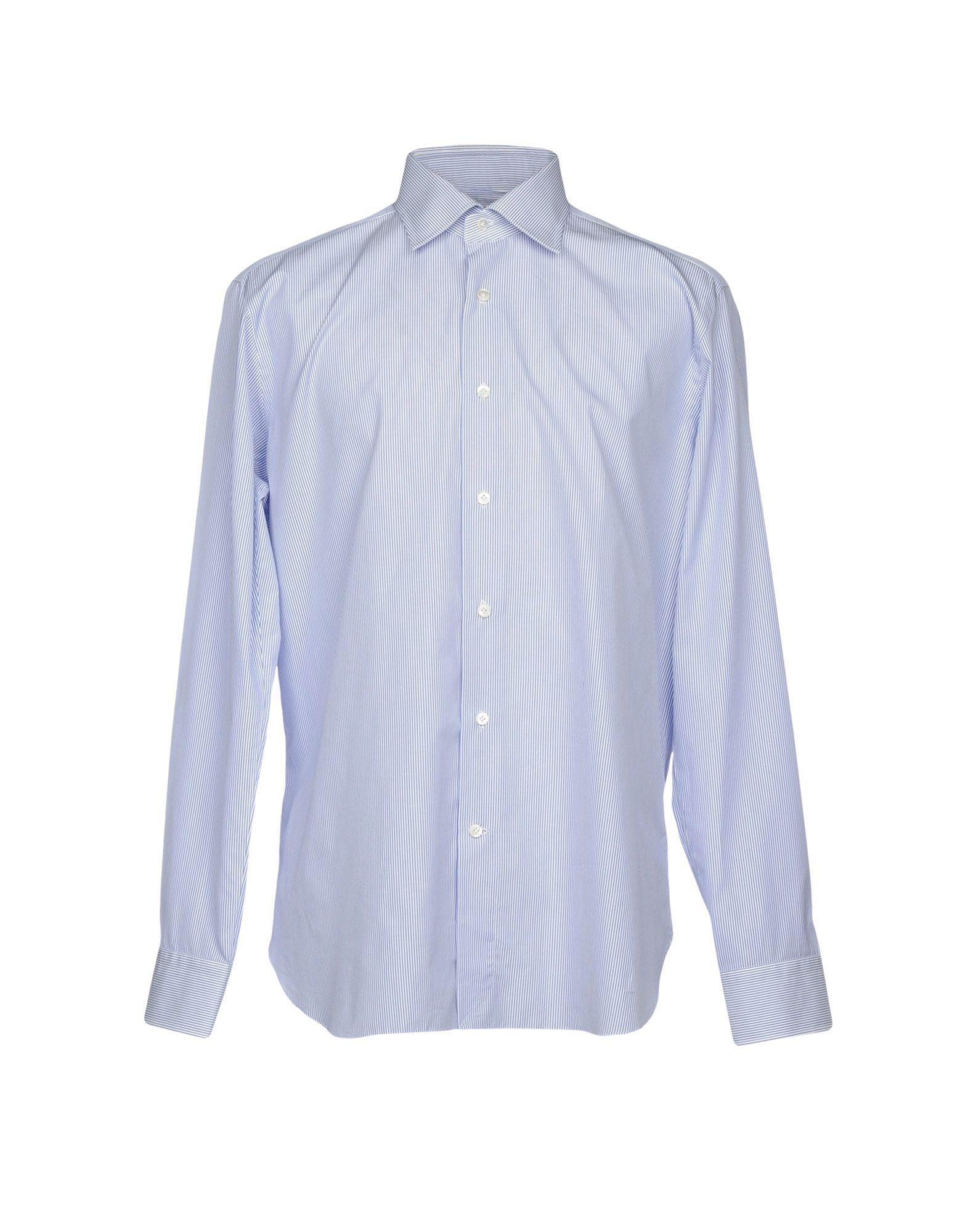 TRUZZI Herren Hemd Farbe Azurblau Größe 9