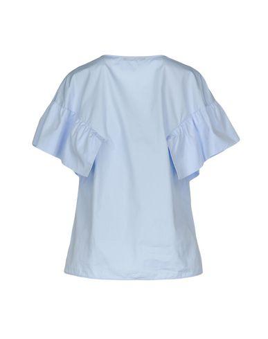 Фото 2 - Женскую блузку  лазурного цвета