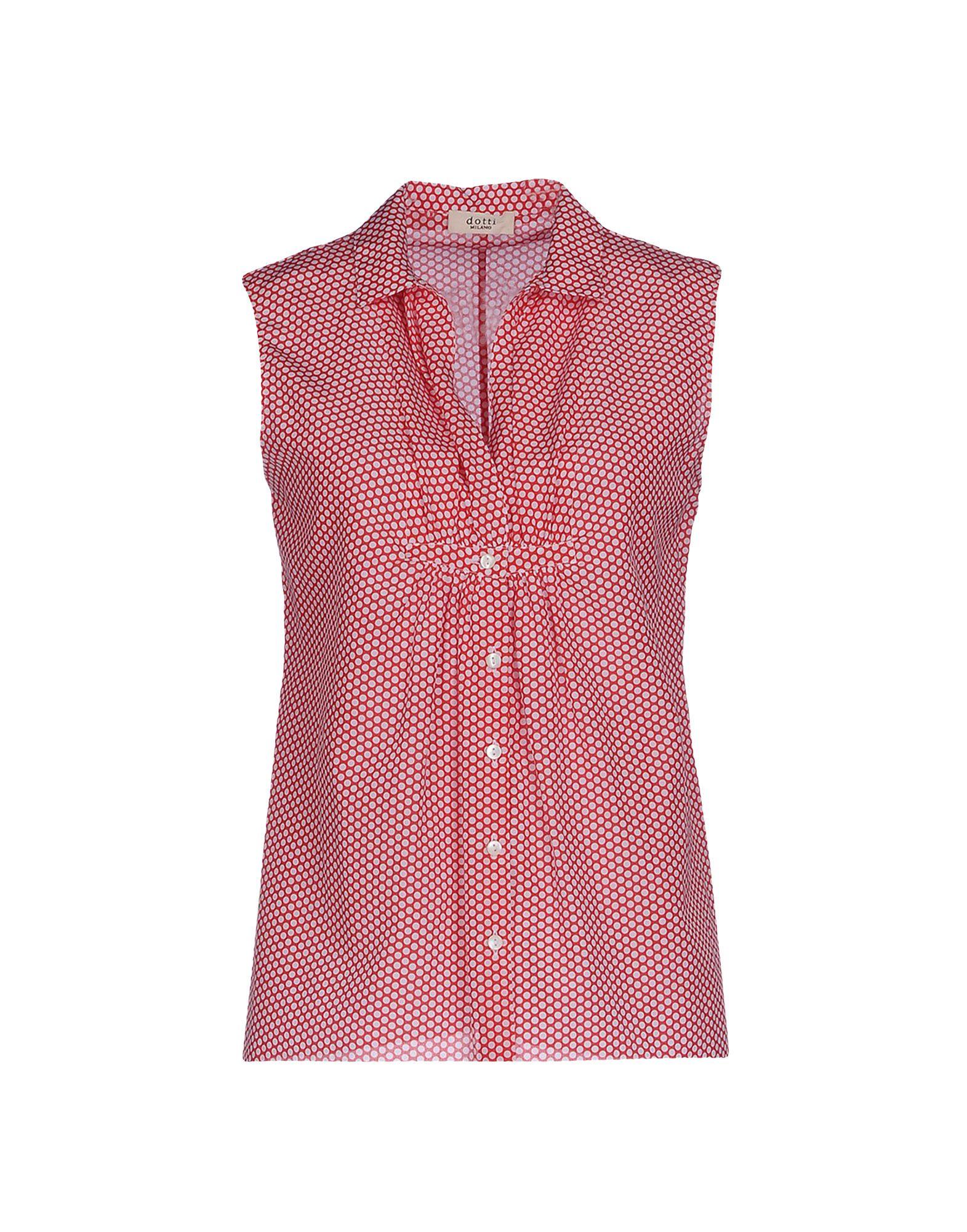 DITTA DOTTI MILANO Pубашка блуза xs milano блузы в горошек