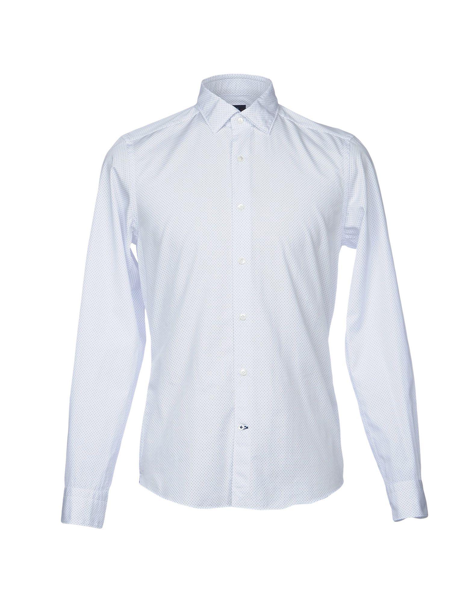 TRUZZI Herren Hemd Farbe Weiß Größe 4
