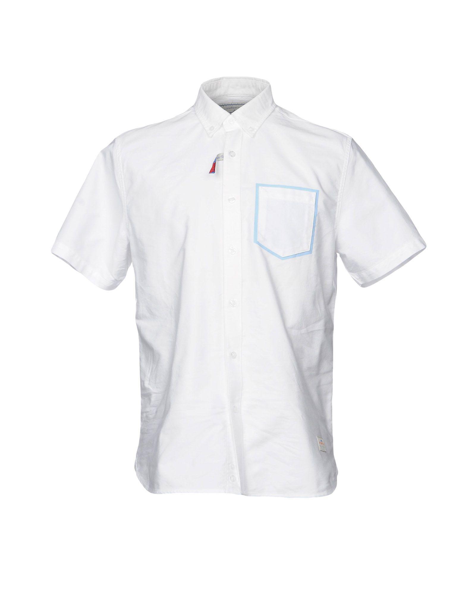 メンズ PENFIELD シャツ ホワイト