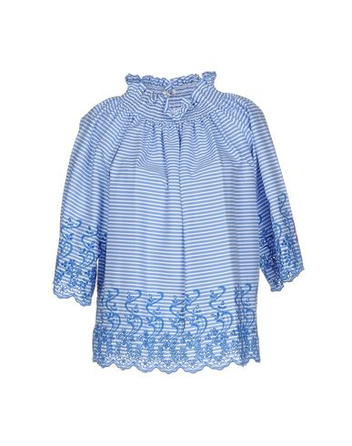 Фото - Женскую блузку P.A.R.O.S.H. синего цвета
