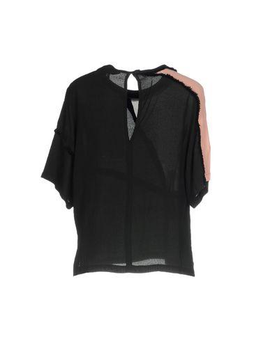 Фото 2 - Женскую блузку GARCIA JEANS черного цвета