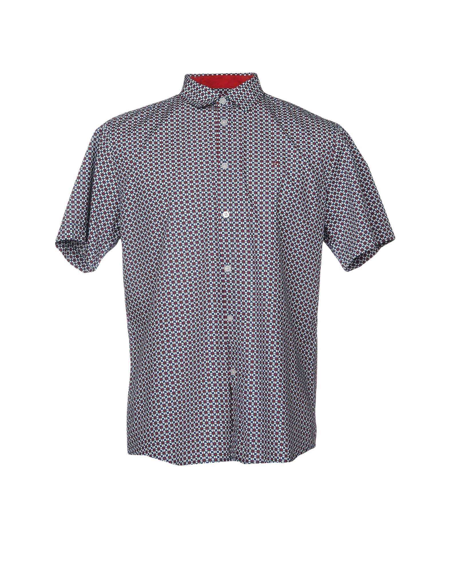 MERC Pубашка merc london рубашка misson синий