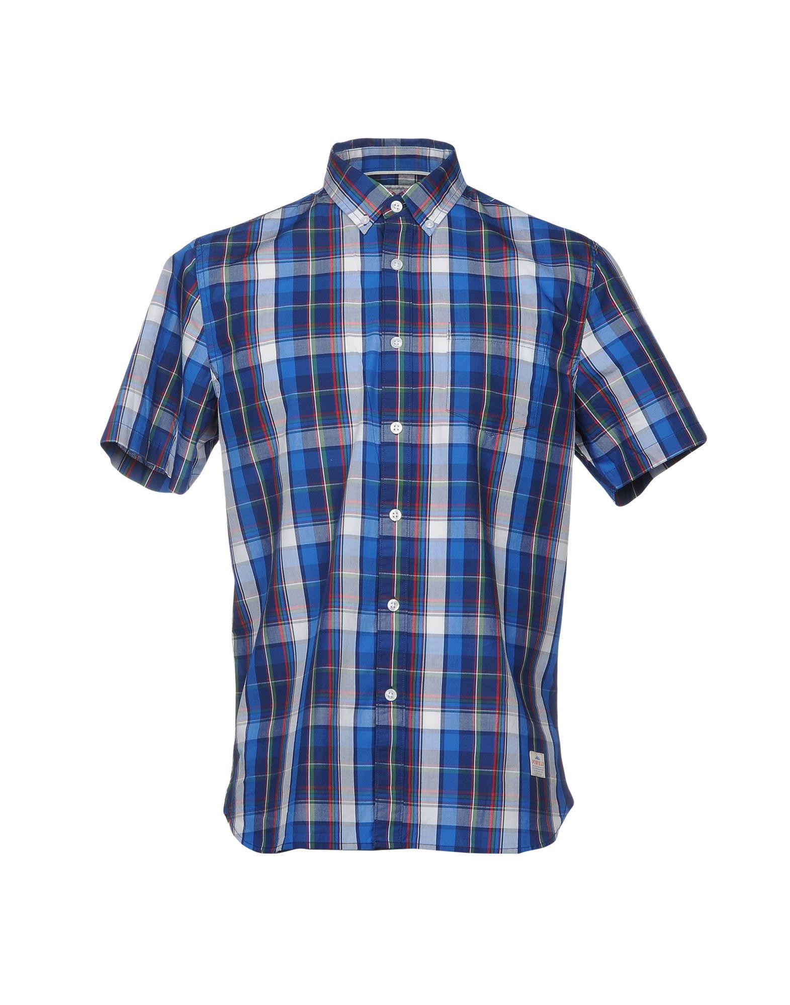 メンズ PENFIELD シャツ ブルー