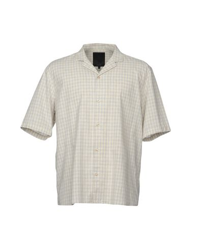 SUIT メンズ シャツ アイボリー S コットン 100%