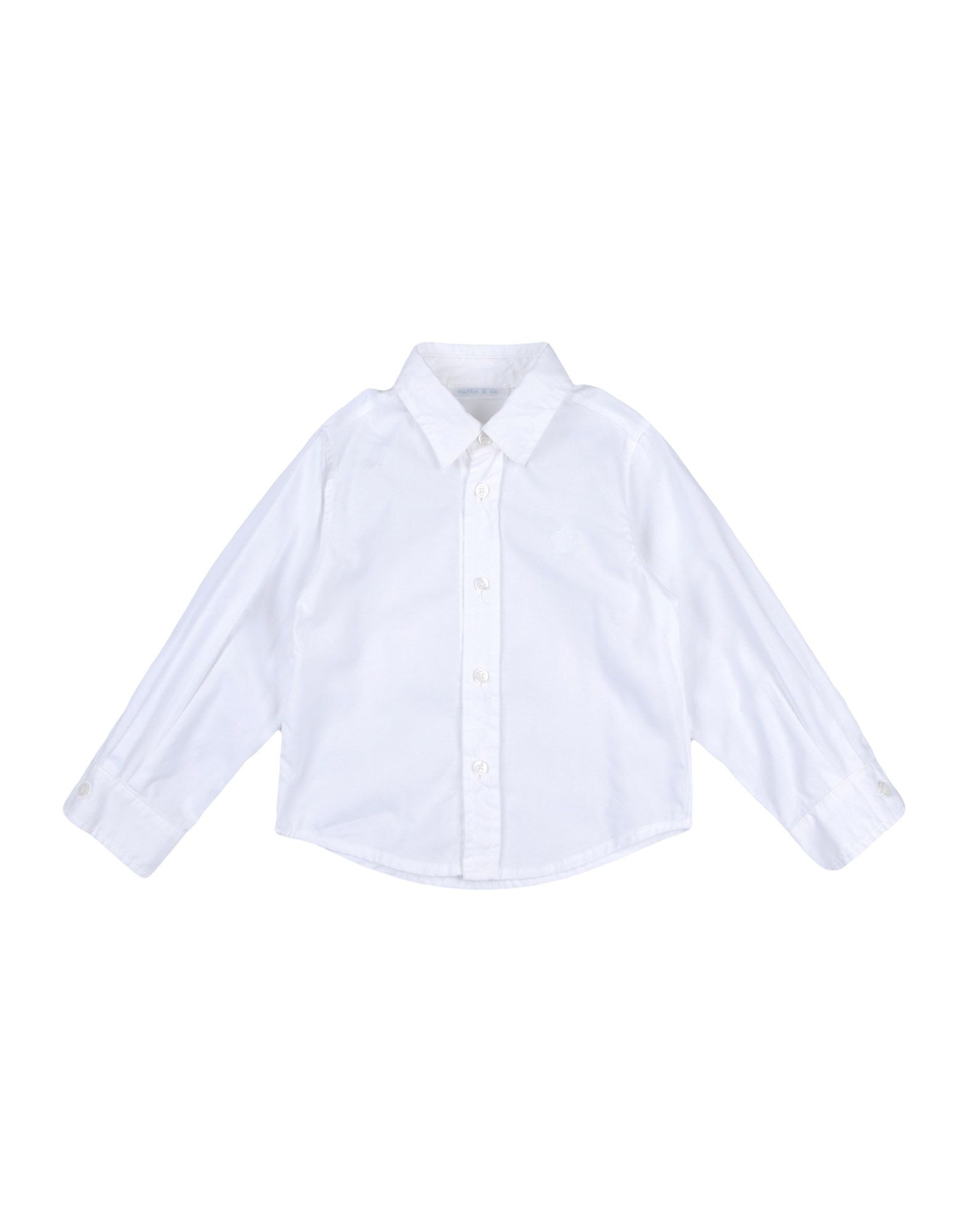 Muffin & Co. Kids' Shirts In White