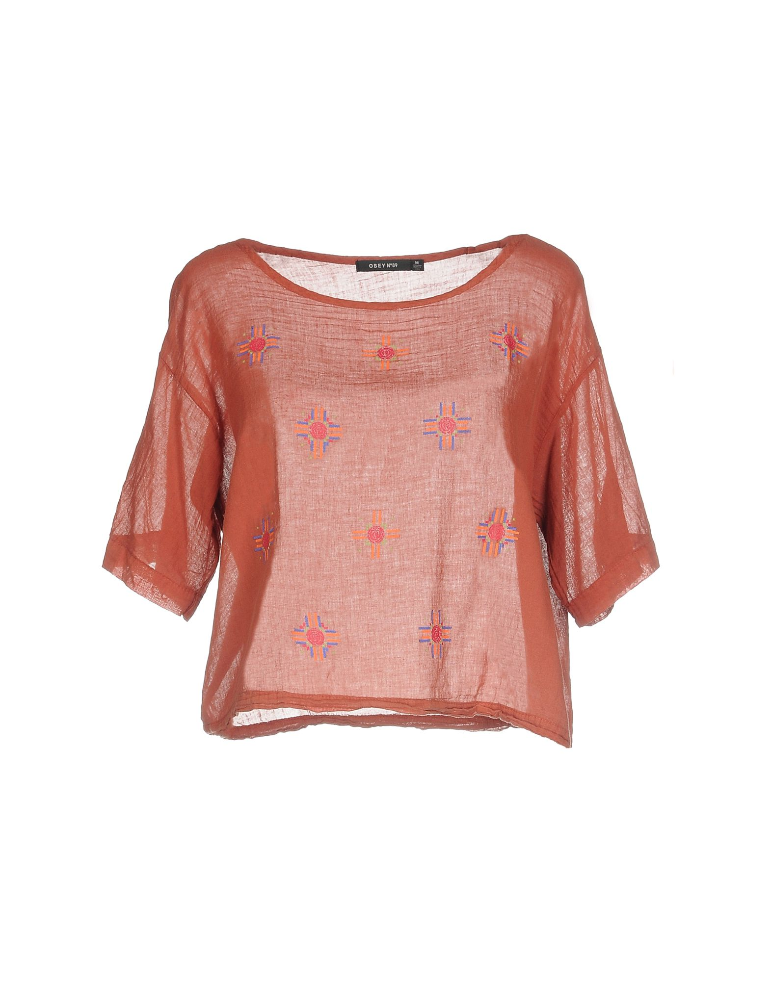OBEY Блузка блузка t tahari блузка