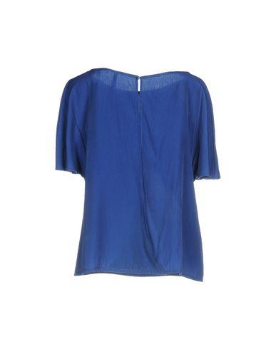 Фото 2 - Женскую блузку AMARILLO LIMÓN синего цвета