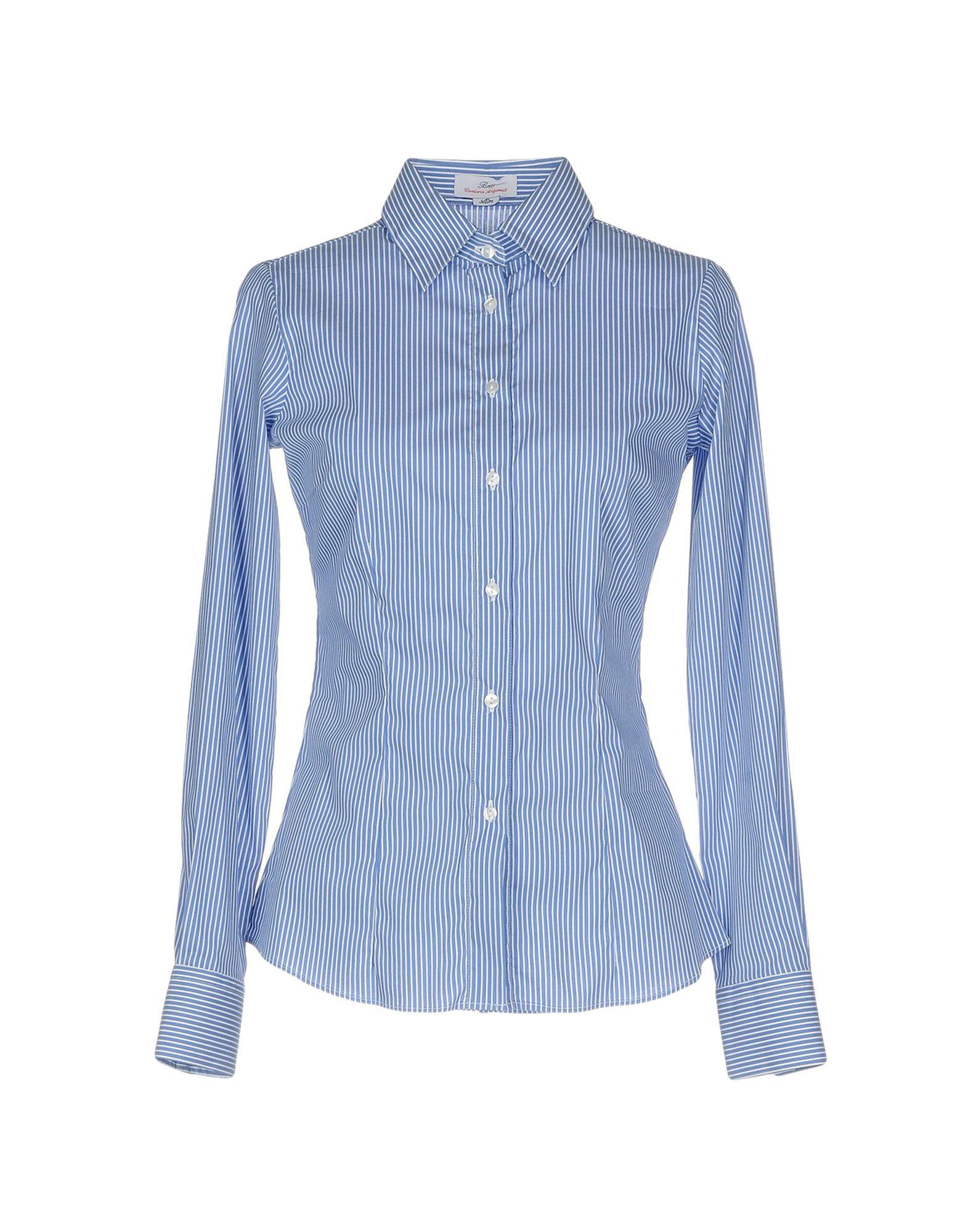 レディース BRIO シャツ ブルー