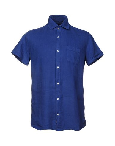 Фото - Pубашка от LIU •JO MAN синего цвета