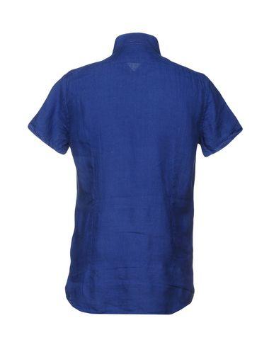Фото 2 - Pубашка от LIU •JO MAN синего цвета