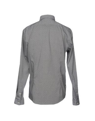 Фото 2 - Pубашка от LIU •JO MAN черного цвета