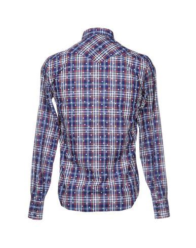 Фото 2 - Pубашка от ETICHETTA 35 синего цвета