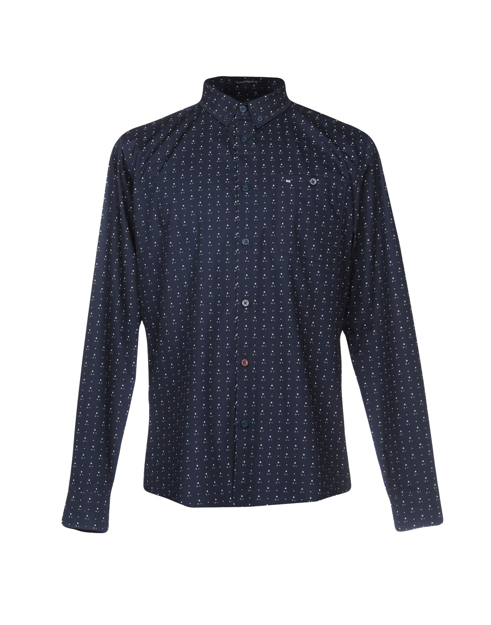 WEEKEND OFFENDER Pубашка weekend offender sixty hours cyan
