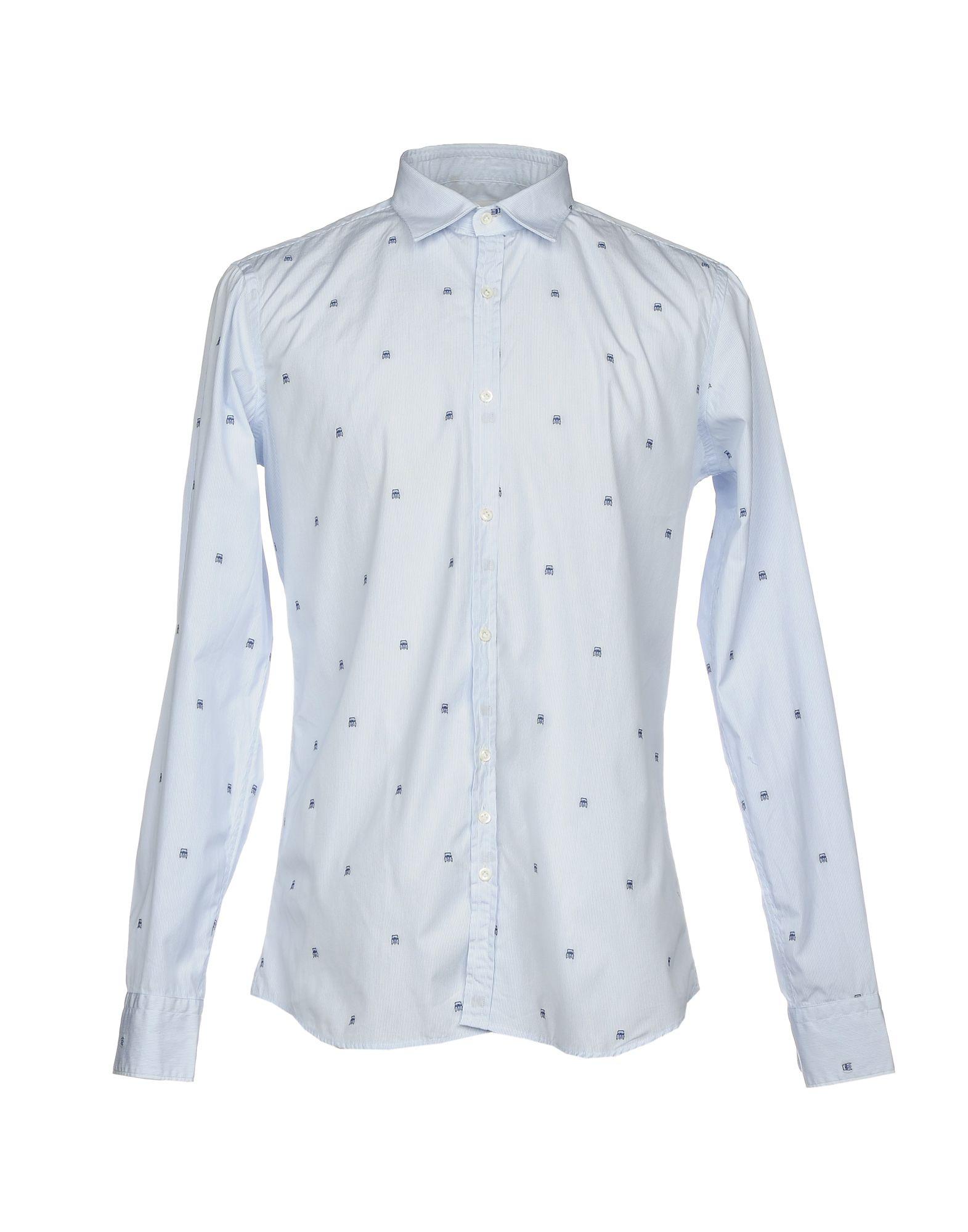 AGLINI Herren Hemd Farbe Himmelblau Größe 8