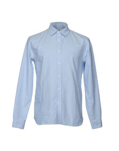 Фото - Pубашка от EDWIN небесно-голубого цвета