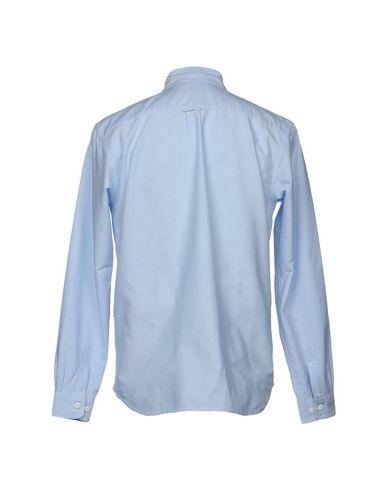 Фото 2 - Pубашка от EDWIN небесно-голубого цвета