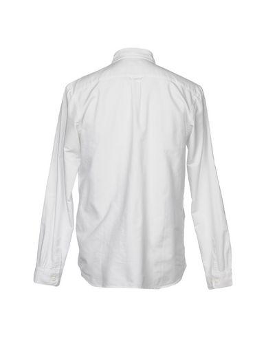 Фото 2 - Pубашка от EDWIN белого цвета
