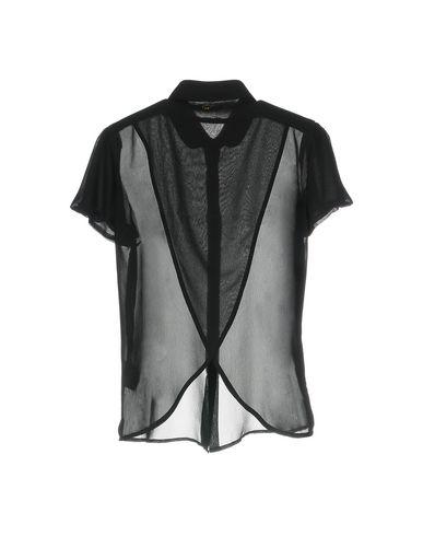 Фото 2 - Pубашка от AT.P.CO черного цвета