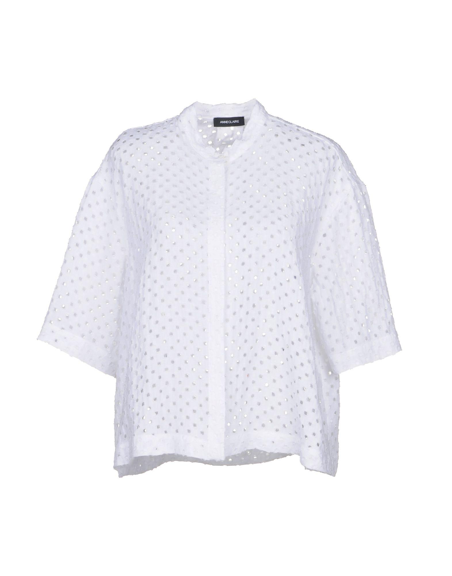 ANNECLAIRE Pубашка anneclaire пальто