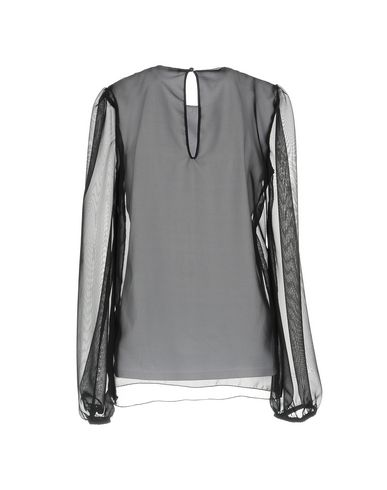 Фото 2 - Женскую блузку NORA BARTH черного цвета