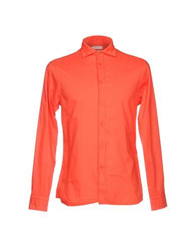 Купить Pубашка от PAOLO PECORA красного цвета