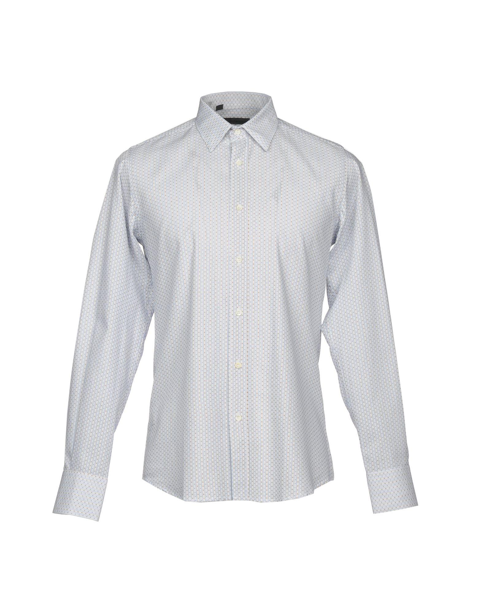 ALESSANDRO DELL´ACQUA Herren Hemd Farbe Blau Größe 4