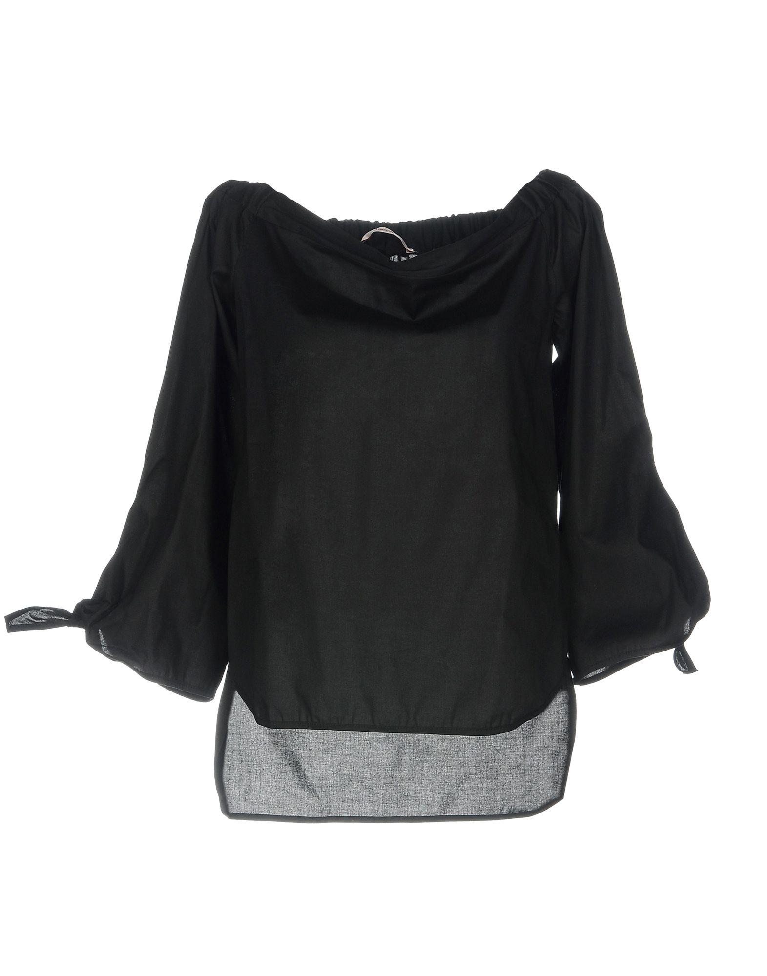 JUCCA Damen Bluse Farbe Schwarz Größe 4