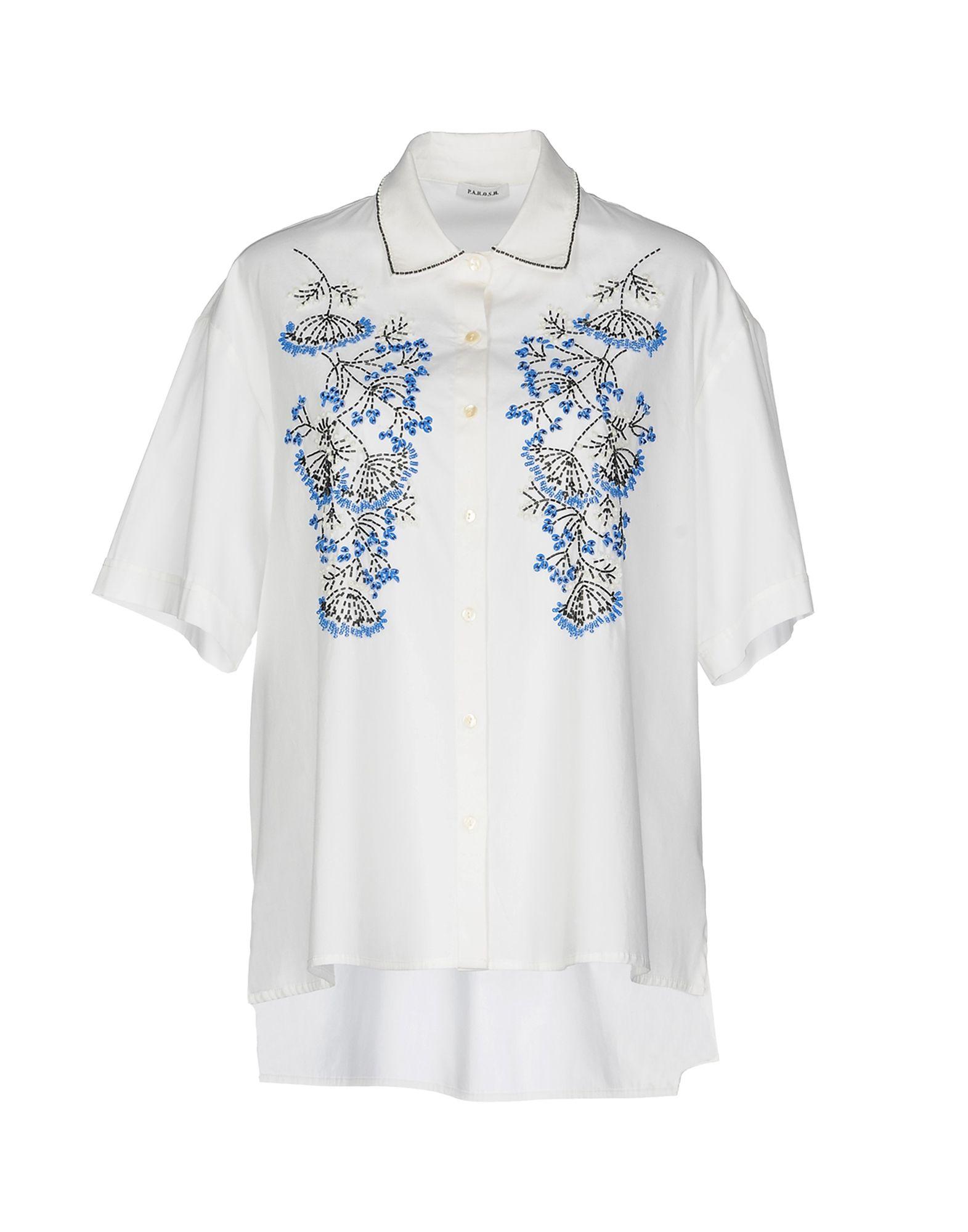 где купить P.A.R.O.S.H. Pубашка по лучшей цене