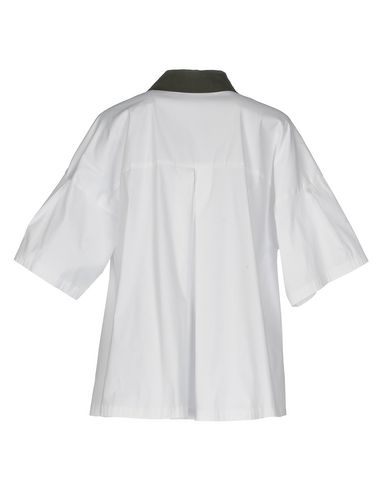 Фото 2 - Женскую блузку FABIANA FILIPPI белого цвета