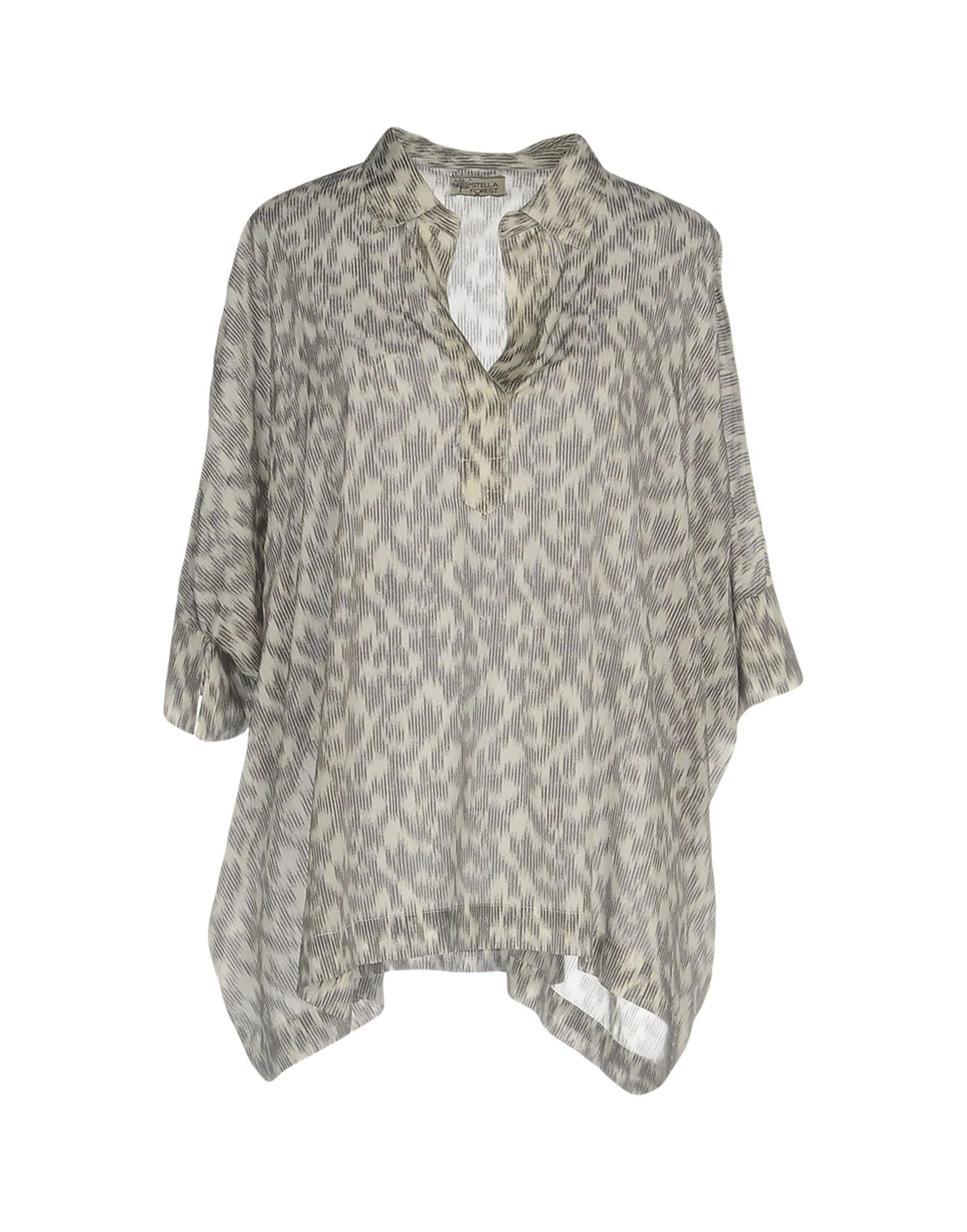 STELLA FOREST Blouse in Grey