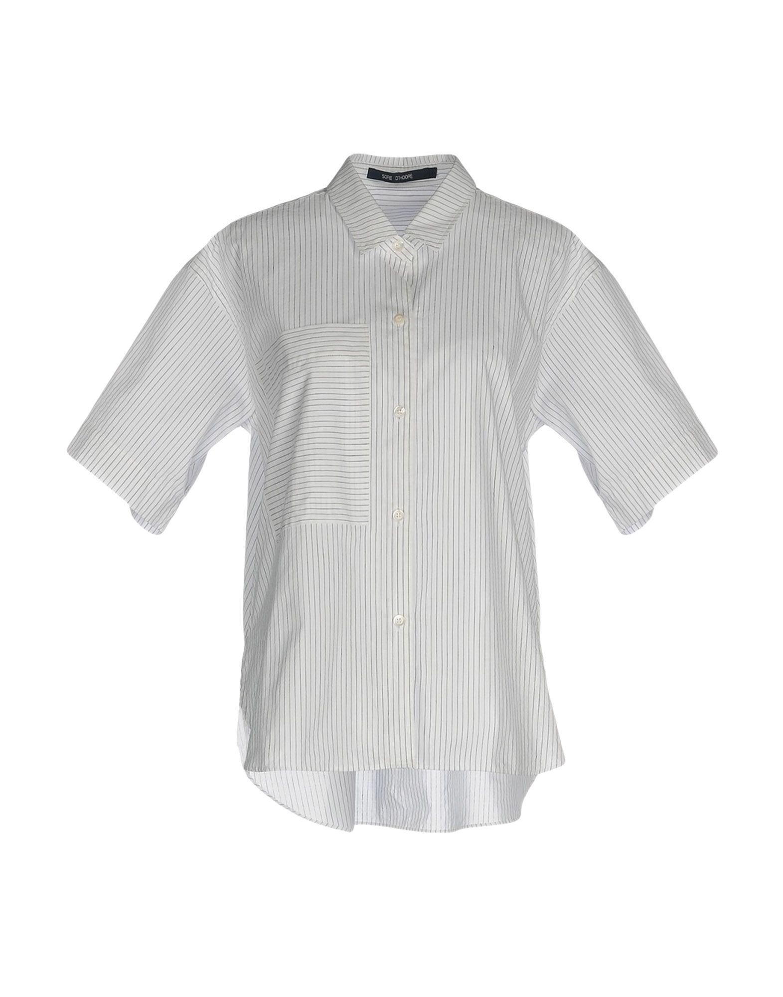 レディース SOFIE D'HOORE シャツ ホワイト