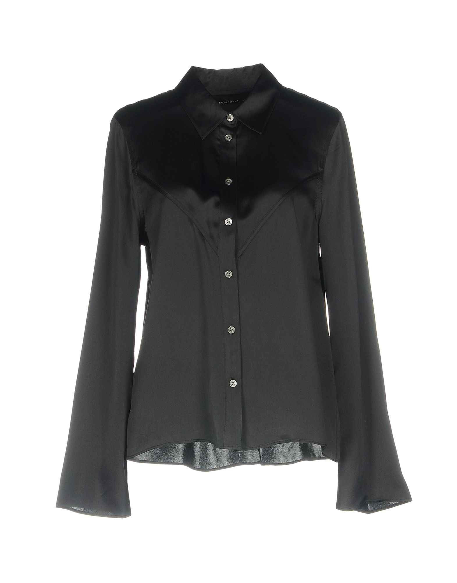 《セール開催中》KATE MOSS EQUIPMENT レディース シャツ ブラック L シルク 100%