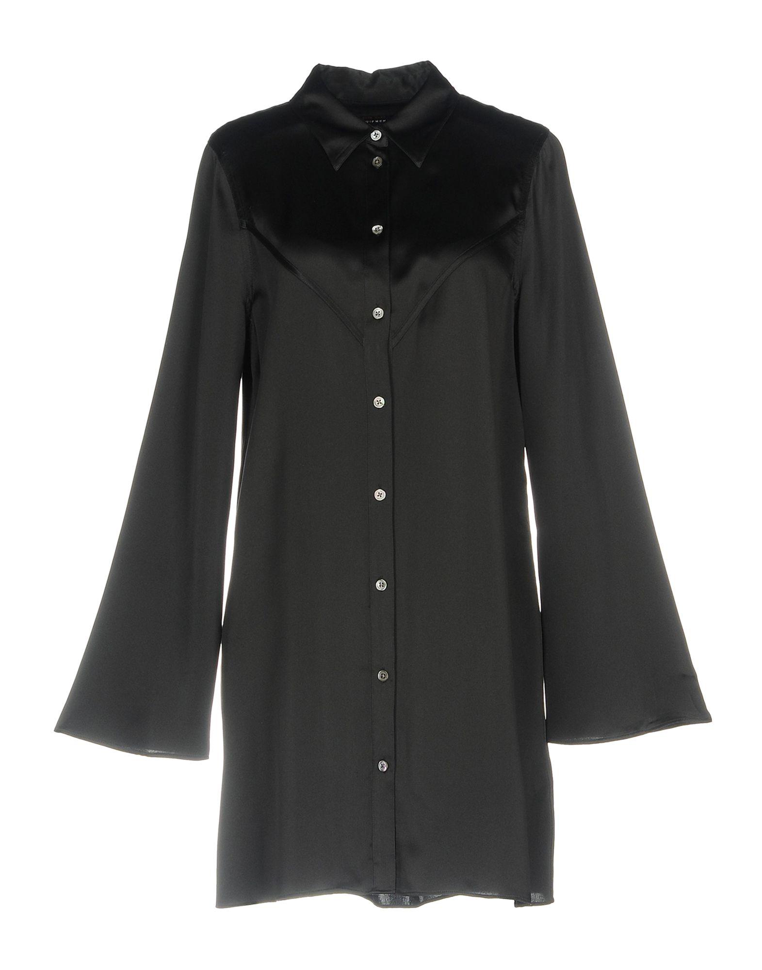 《送料無料》KATE MOSS EQUIPMENT レディース シャツ ブラック M シルク 100%