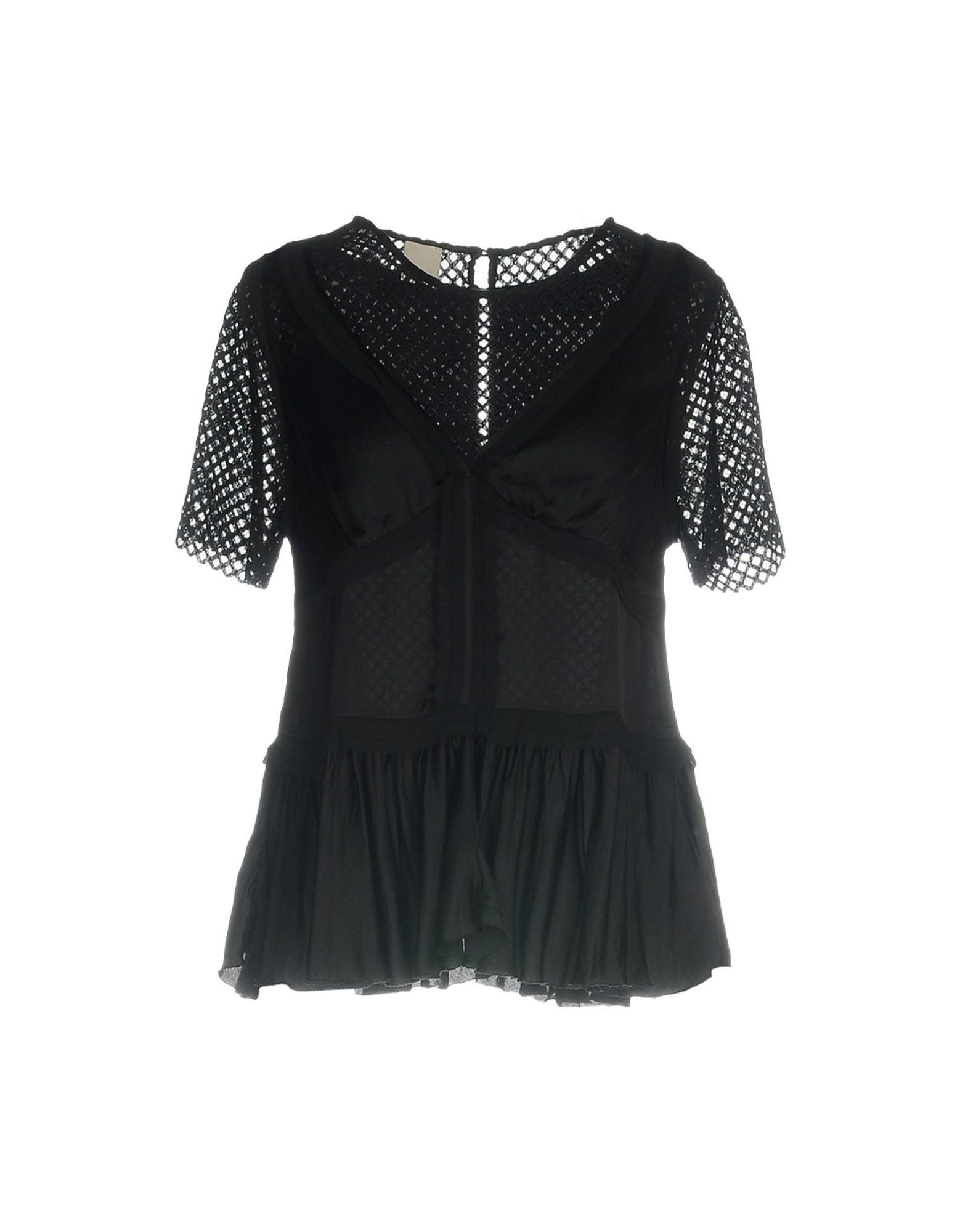 PINKO Damen Bluse Farbe Schwarz Größe 4